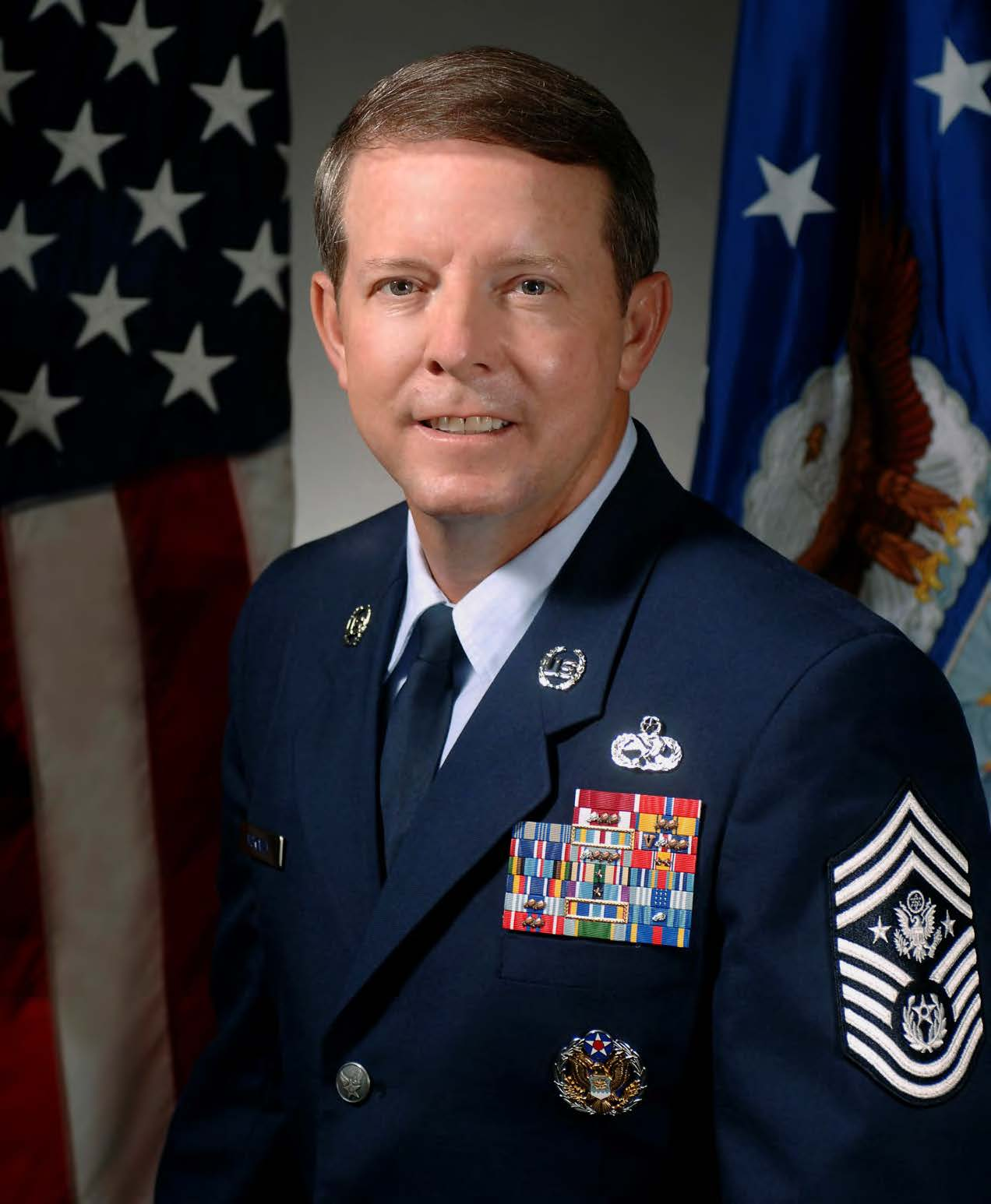Chief Master Sergeant of the Air Force Rodney J.  McKinley, U.S. Air Force, Retired